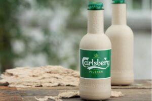 Carlsberg desarrollo la primera botella de papel para cerveza del mundo