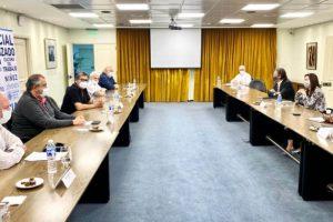 La misión del Fondo escuchó la visión de la UIA y la CGT sobre el camino de la recuperación