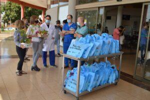 Arce recorrió el hospital Neonatal por con motivo del día de la Madre