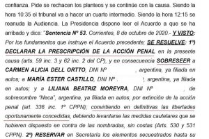 Corrientes: liberaron a tres acusadas de prostituir a una joven discapacitada