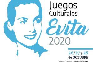 El lunes 26/10 inician las finales provinciales de los Juegos Culturales Evita