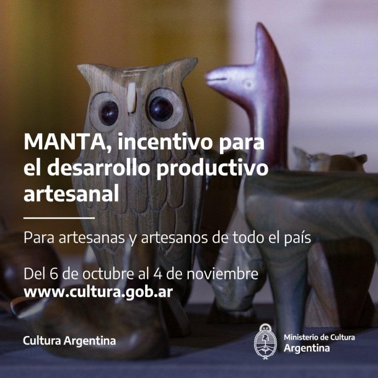 MANTA, incentivo para el desarrollo productivo artesanal