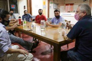 """Passalacqua se reunió con UDPM para """"analizar alternativas a futuro"""" de la educación en la provincia"""