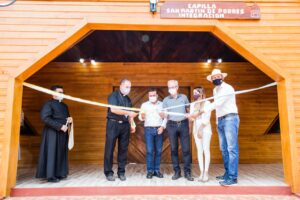 En el paraje Integración de Andresito se reinauguró una capilla ecológica