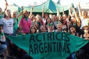 Actrices Argentinas reclamó que se trate el proyecto de aborto legal este año
