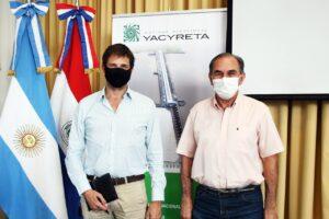 Yacyretá firma Convenio de Colaboración con la municipalidad de Posadas