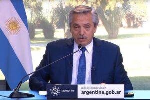 Alberto Fernández anunció que el distanciamiento sanitario continúa hasta el 20 de diciembre