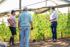 El IFAI evaluó proyectos productivos en Andrade.