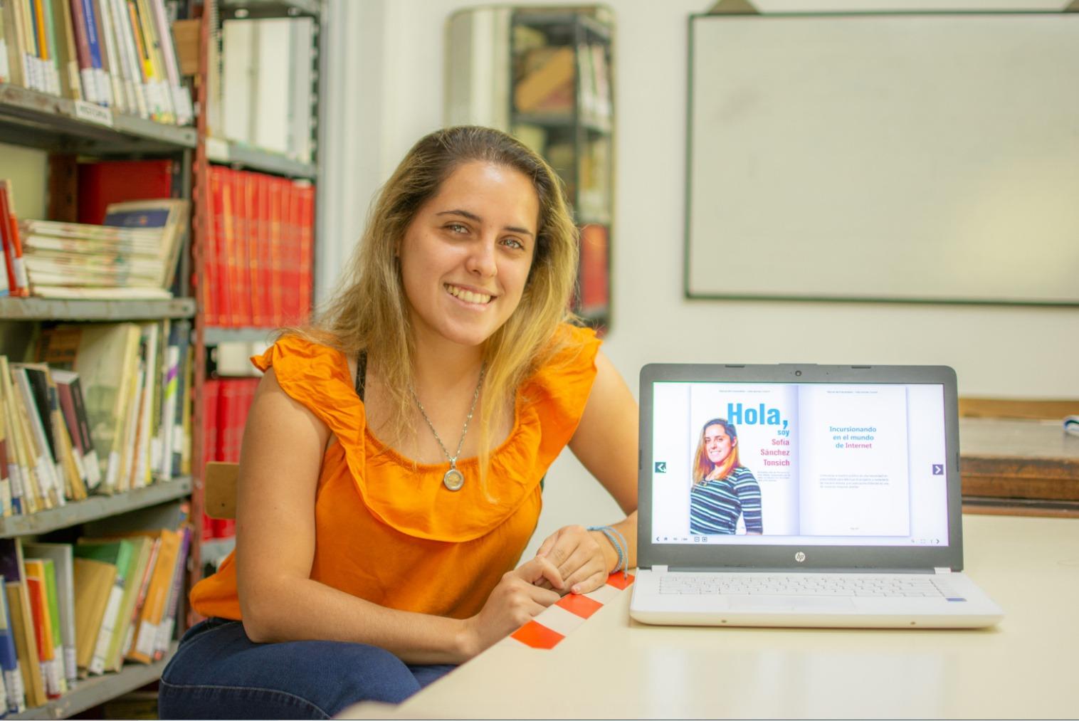 Sofia Sánchez Tonsich presenta Manual para emprender