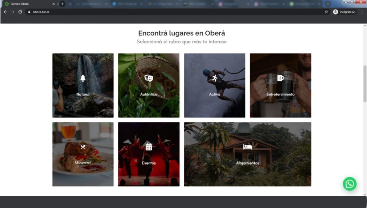 """Presentarán el """"destino Oberá"""" y pagina web"""