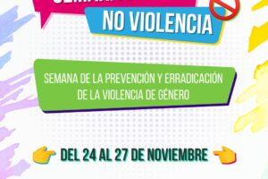 Semana virtual de la educación para prevenir la violencia