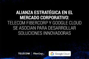 Telecom y Google Cloud se asocian para desarrollar soluciones innovadoras