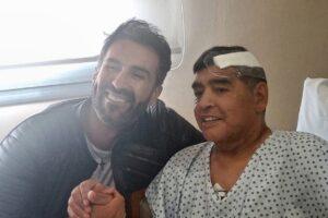 Maradona recibió el alta y ya descansa en Villanueva