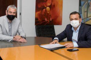 Viviendas: Herrera Ahuad se reunió con Ferraresi por inversiones