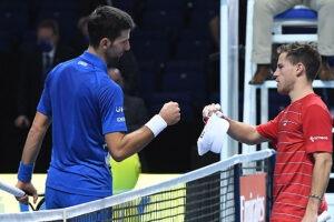 El Peque Schwartzman no pudo con Djokovic en el Masters de Londres