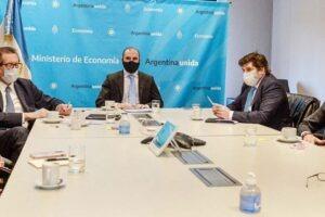 Telam, Ciudad de Buenos Aires, 09 de noviembre de 2020: El ministro de Economía, Martín Guzmán, confirmó hoy que solicitará al Fondo Monetario Internacional (FMI) un programa de facilidades extendidas para devolver al organismo los US$ 44.000 millones que el país recibió durante el gobierno de Mauricio Macri. Foto: Archivo/cf/Telam
