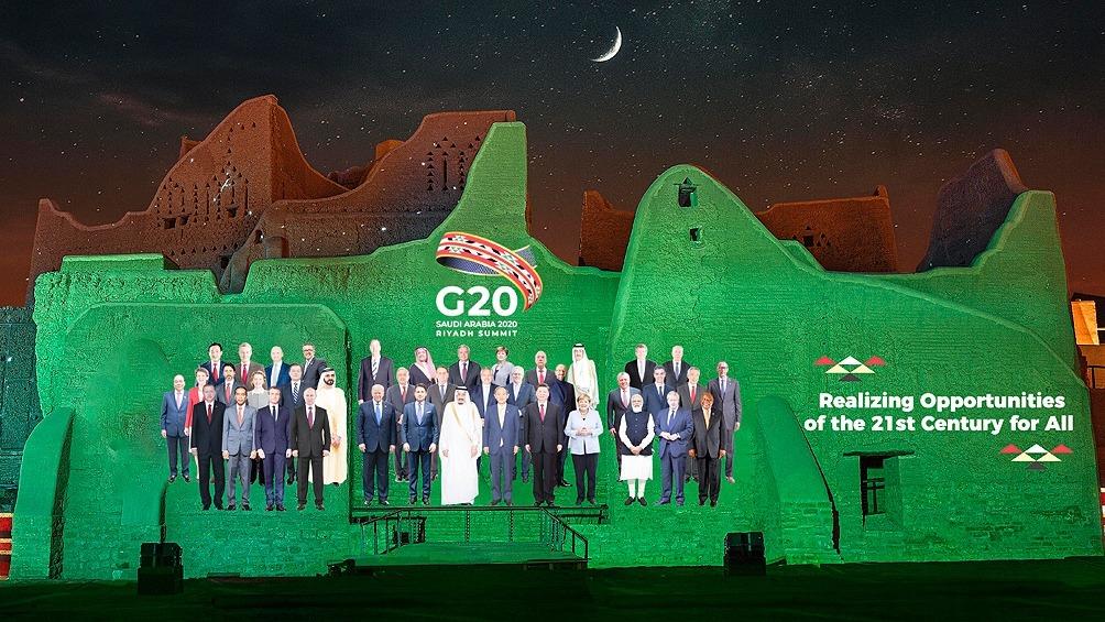 Líderes mundiales piden una respuesta unificada al coronavirus en el inicio de la cumbre del G20