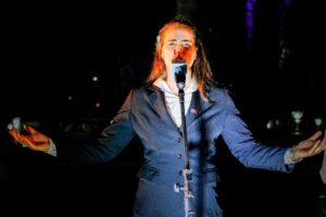Pamela Ayala, la primera mujer en incorporarse a la Orquesta Folklórica Municipal