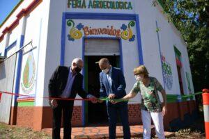 El Vicegobernador participó del 87 aniversario de Gobernador Roca y puesta en marcha de feria agroecológica