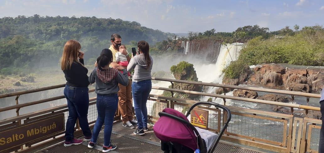 """Las Cataratas del Iguazú, tercera """"Maravilla Incuestionable"""" del planeta"""