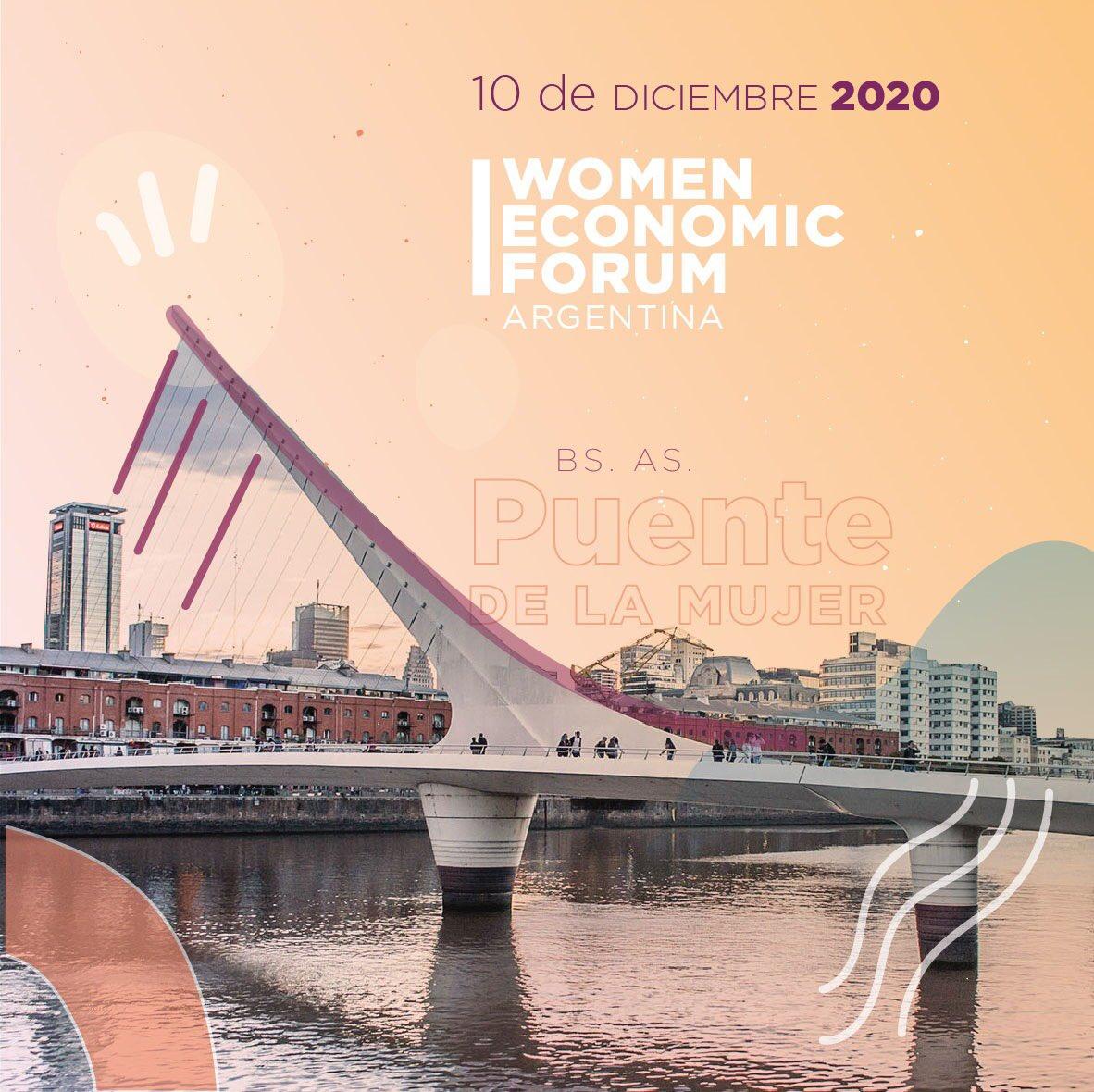 Delia Flores participa en la Women Economic Forum en el panel sobre Mujeres al Mundo