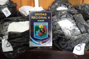 Impactante decomiso en Iguazú: más de 50 kilos de heroína y codeína de máxima pureza