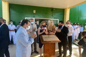 El Gobernador y la presidente del Superior Tribunal de Justicia inauguraron la nueva Morgue Judicial