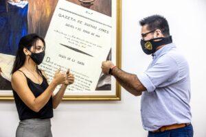 Cuarenta empleados de Casa de Gobierno se capacitaron en lenguaje de señas