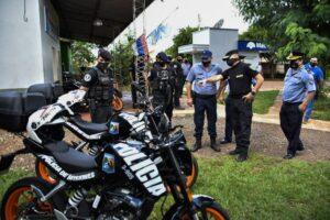 En Garupá refuerzan la División Prevención de Delitos de la UR 10