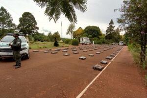 Decomisan más 4 mil kilos de marihuana transportados en un camión de bandera brasileña
