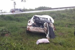 Coleco, el ex intendente de El Soberbio chocó en la ruta 14 cerca de Oberá