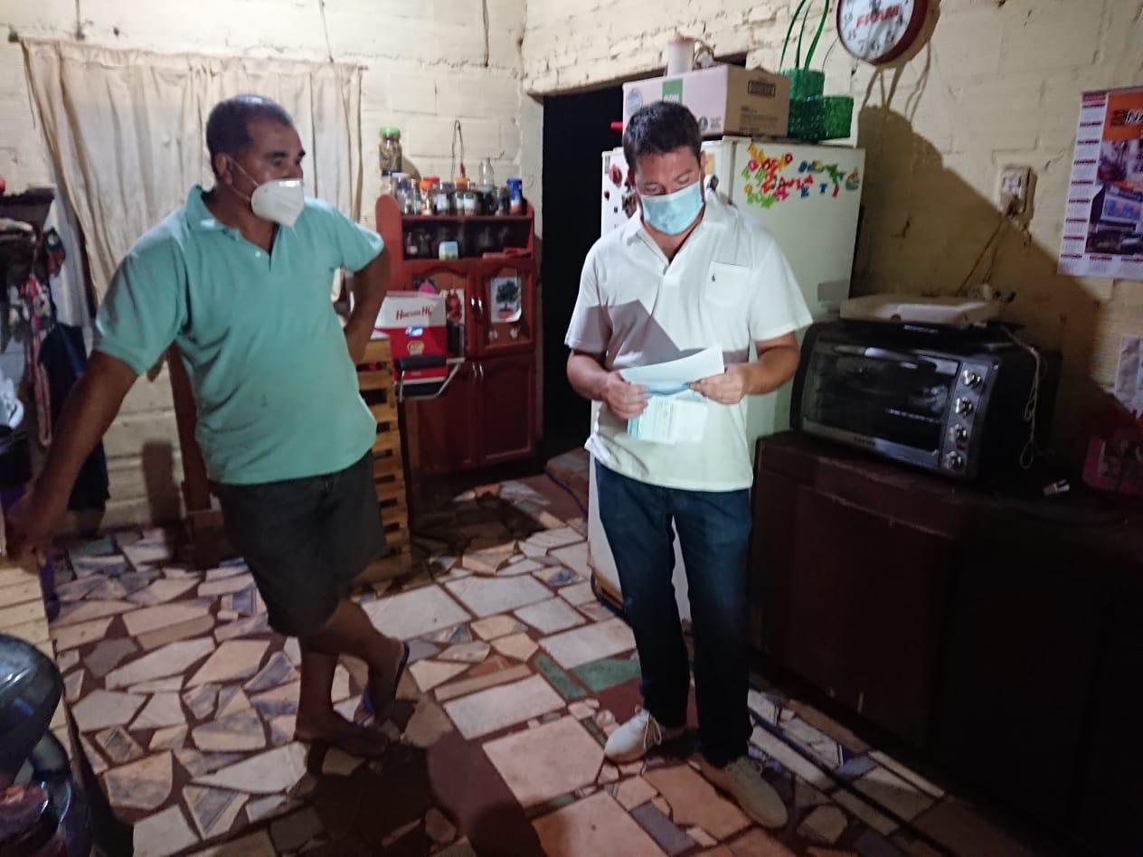 Asistencia del EPRAC a vecinos de Posadas