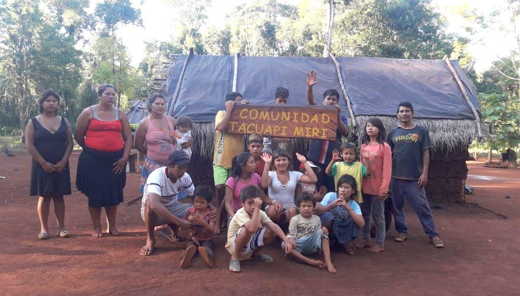 La comunidad Tacuapí Mirí reclama construcción de Aula Satélite como habilita la resolución del CGE
