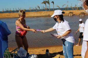 Los preventores comunitarios de MisionEs Prevención estarán en las playas de Posadas y en Iguazú