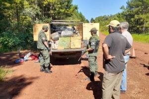 Incautan en San Vicente 1.200 kilos de marihuana ocultos en un vehículo