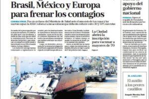 Las tapas del miércoles 27: Recortan vuelos a Brasil, EE.UU. y Europa; cumbre en Chile