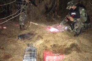 Prefectura secuestró más de 1.750 kilos de marihuana en Misiones