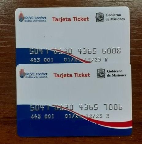 De Ticket consumo a Tarjeta Ticket