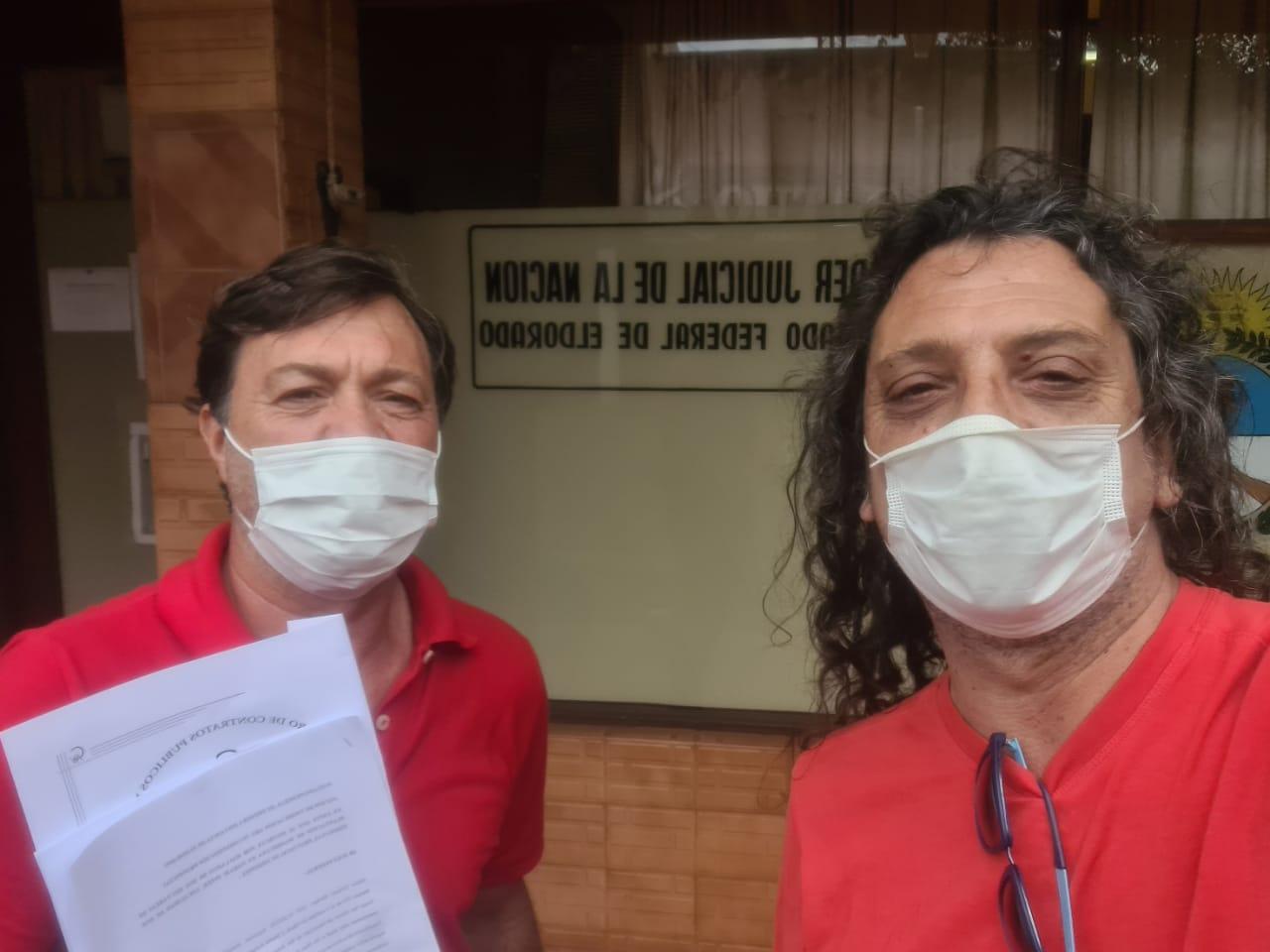 Bárbaro y Sereno impulsan acción de vindicación ante la justicia federal para combatir fake news