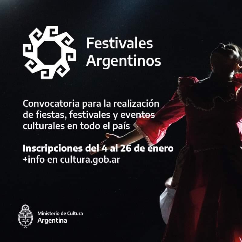 """""""Festivales argentinos"""": un programa federal de fomento a las celebraciones culturales"""