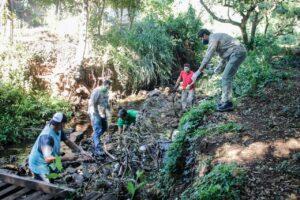 Posadas: continúan las tareas de limpieza de los arroyos