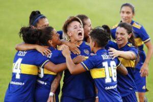 Con Yamila Rodríguez, Boca humilló 7-0 a River y se coronó como campeón femenino