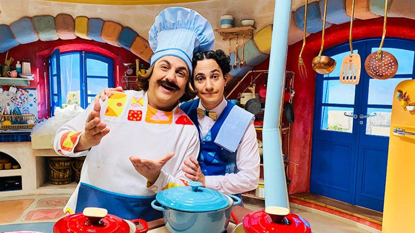"""Topa estrena la serie """"El Ristorantino de Arnoldo"""" en la plataforma Disney+"""