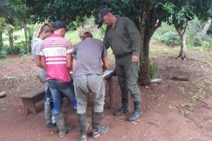 Detienen a tres cazadores furtivos en Colonia Victoria