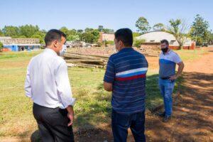 Recorren predio donde se construirá el Mercado Concentrador Zonal de San Pedro