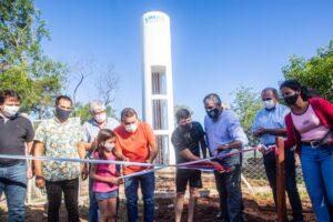 El Gobernador inauguró una red de agua para 100 familias en Garupá