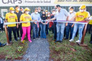 Herrera Ahuad inauguró un Caps y entregó subsidios e insumos en Santiago de Liniers