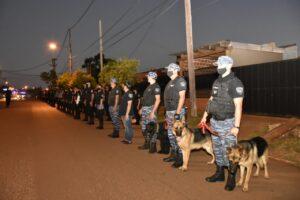 Con más de 850 efectivos continúan los operativos de Seguridad Ciudadana en la provincia