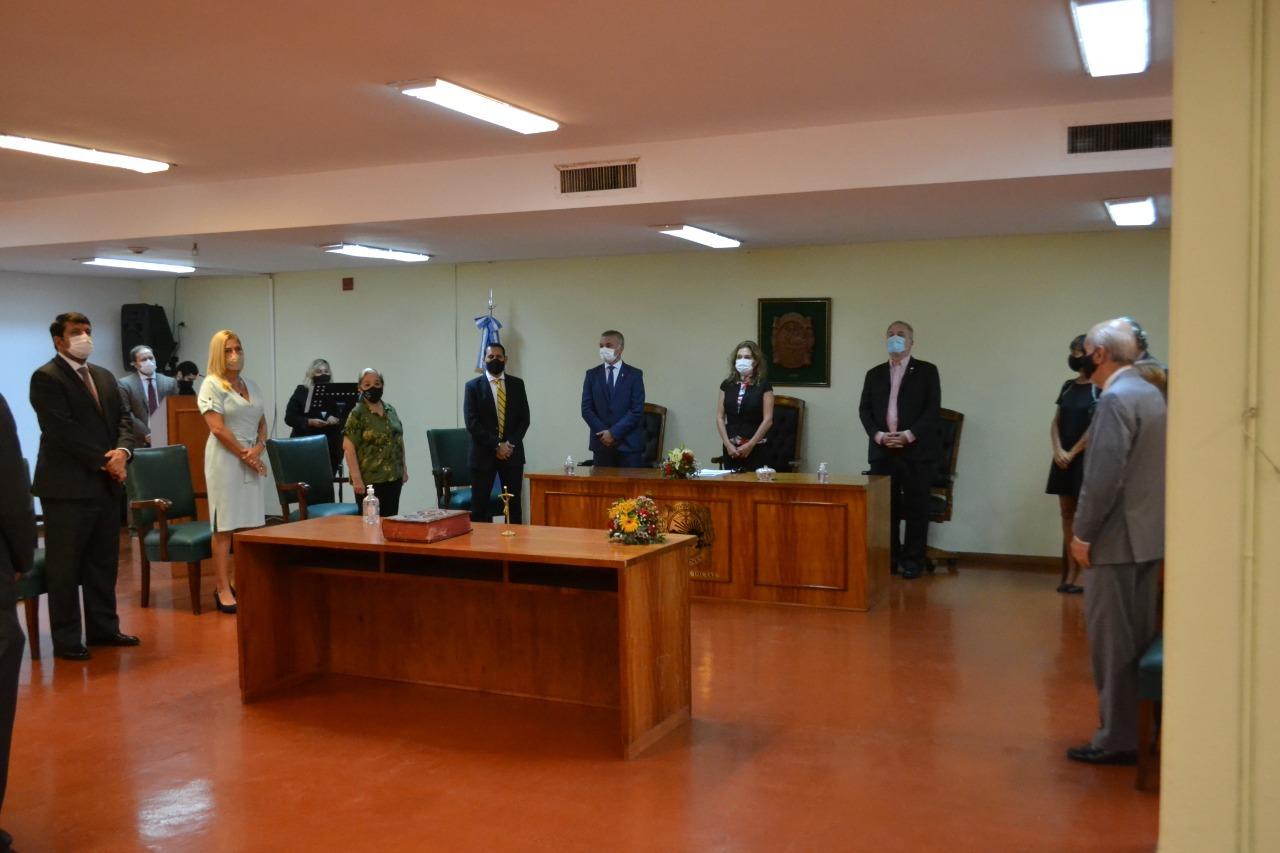 Se realizó la toma de Juramento para cargos en Iguazú y San Pedro
