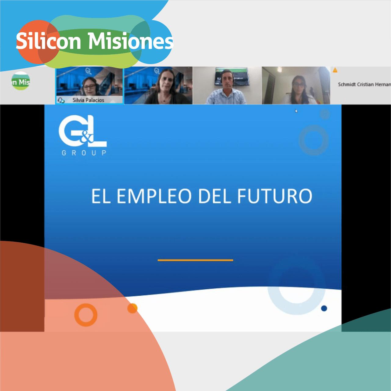"""G&L Group y Silicon Misiones descubren nuevos talentos en el Workshop: """"Como prepararte para un empleo del futuro"""""""